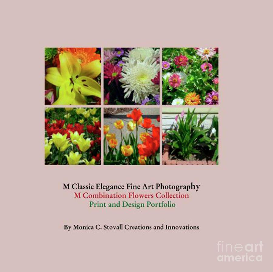 Color Combination Flowers Portfolio by Monica C Stovall