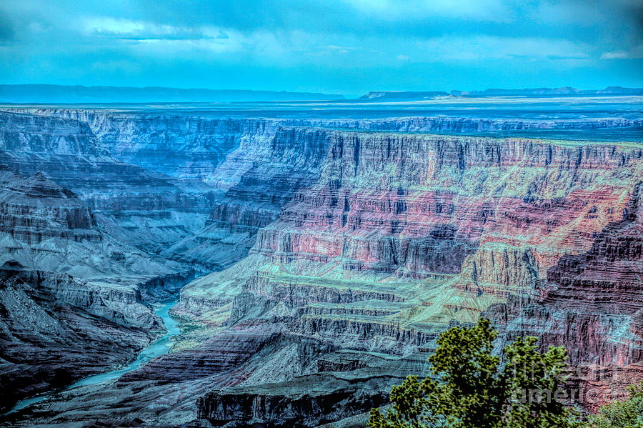Color Mix Grand Canyon  by Chuck Kuhn