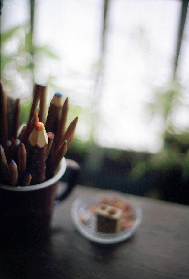 Color Pencils Photograph by K-ko
