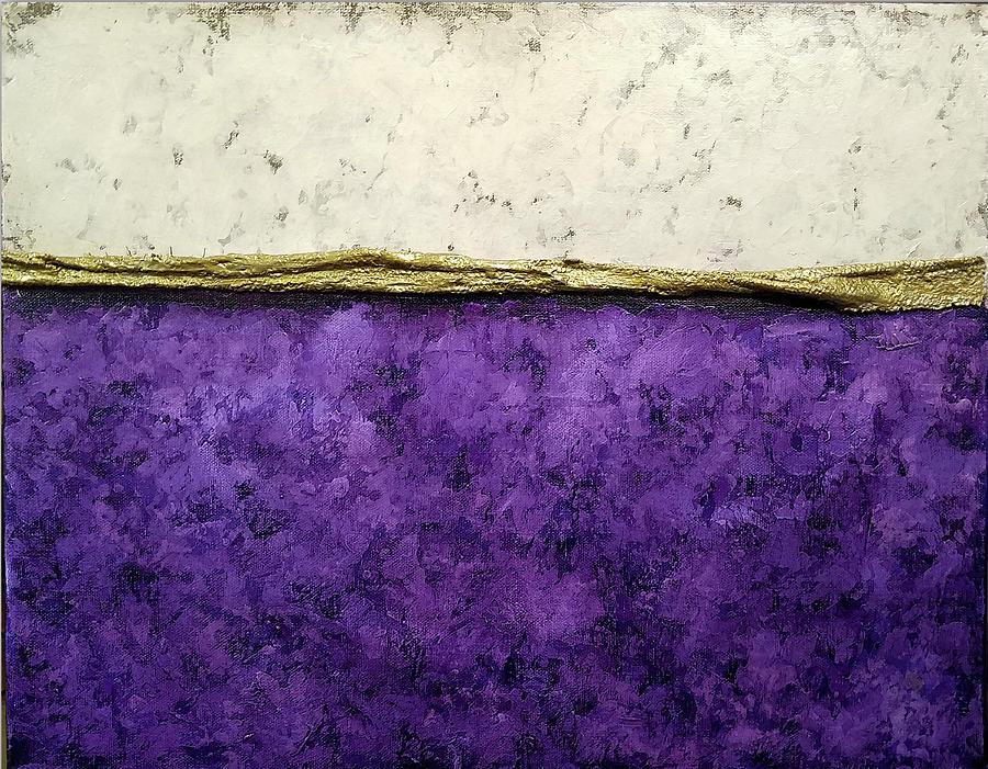 Color Study in Purple by Brenda Leedy