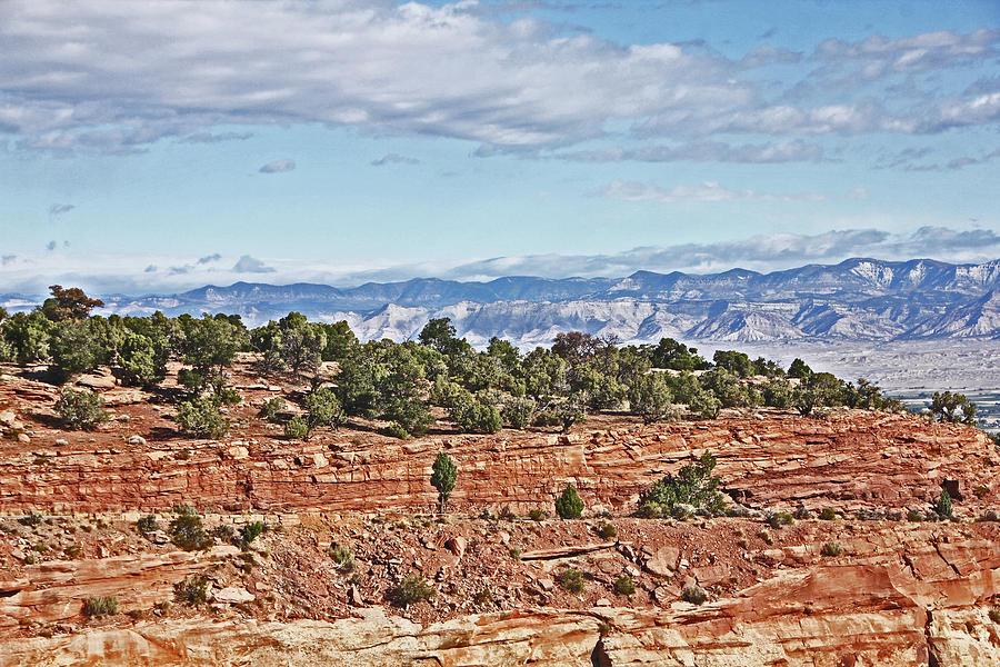 Colorado Blue Sky Red Rocks Clouds Trees 2 10212018 2857 Colorado