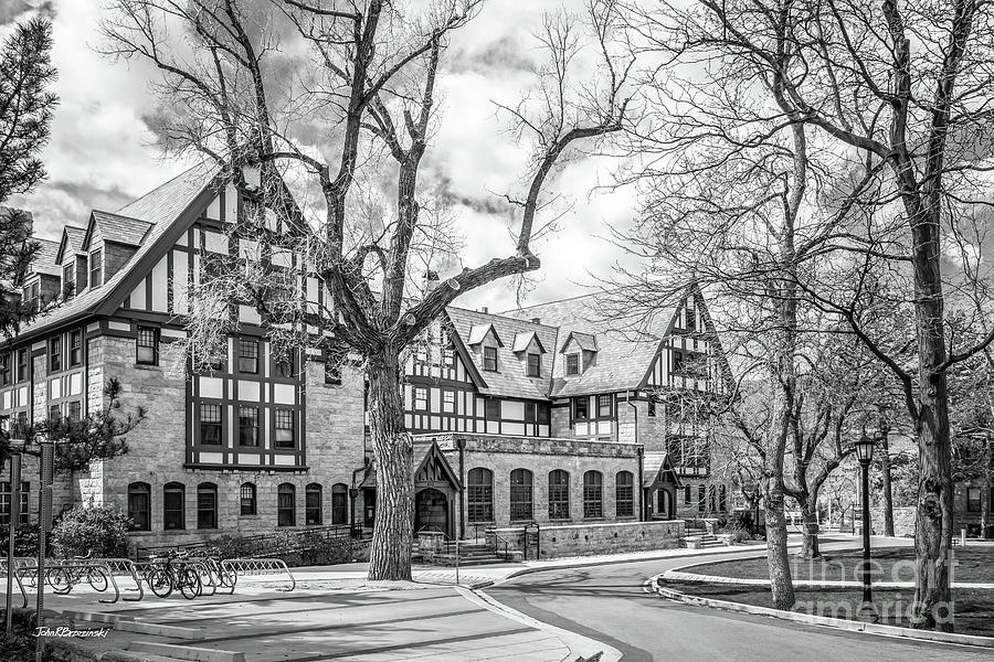 Colorado College Bemis Hall by University Icons