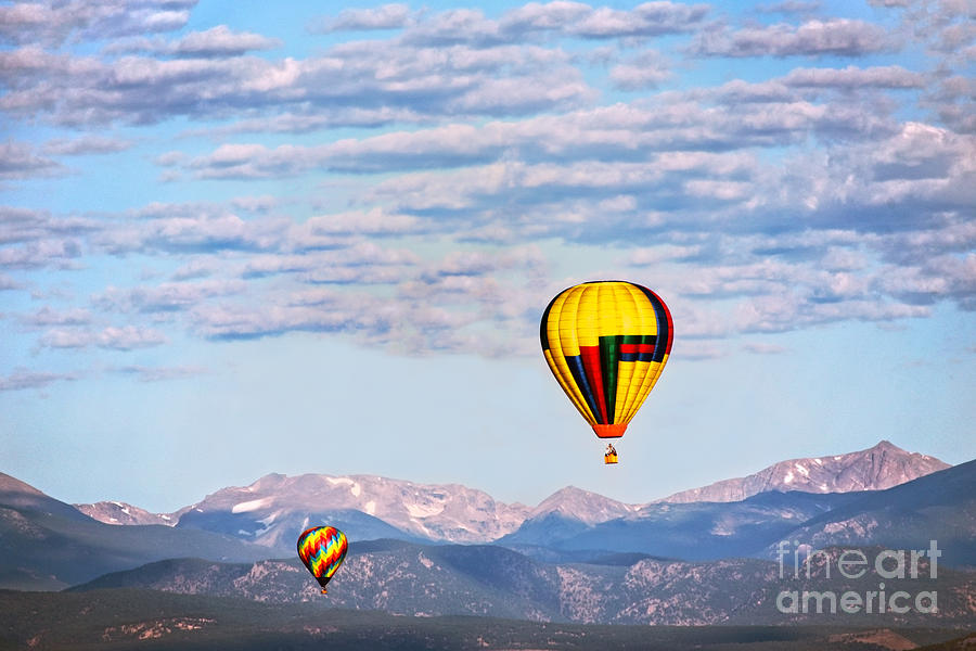 Colorado Hot Air Balloons by Catherine Sherman