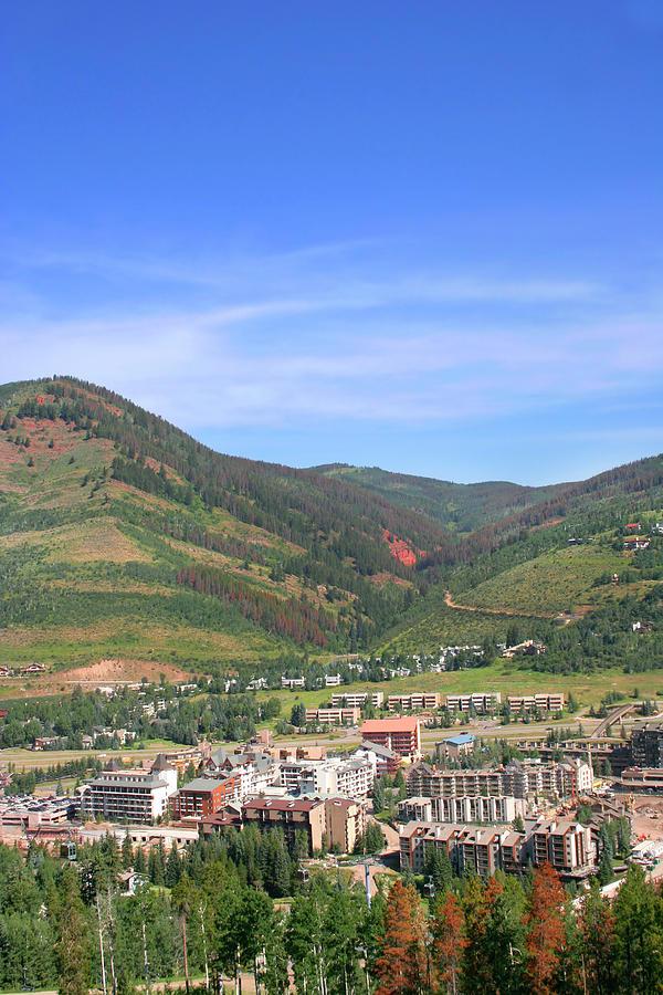 Colorado Mountain Town Photograph by Drflet