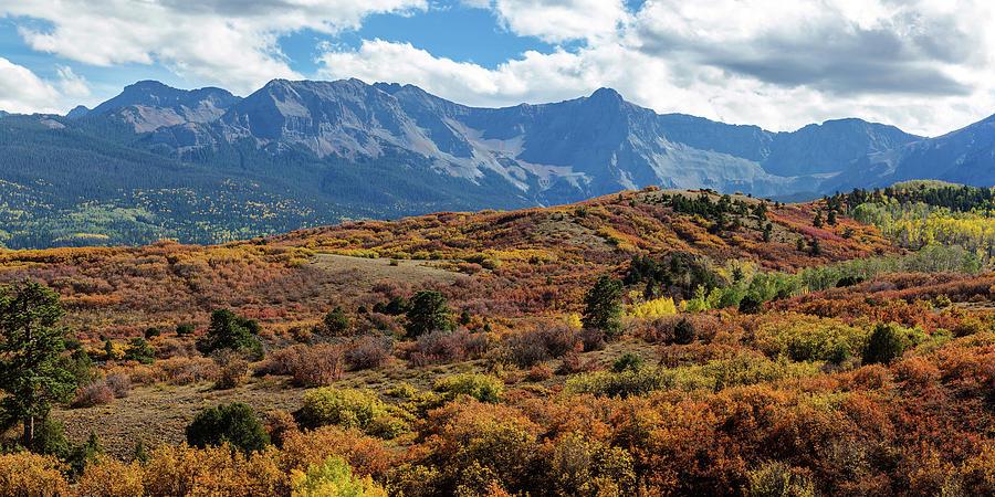 Ridgeway Photograph - Colorado Painted Landscape Panorama Pt1 by James BO Insogna