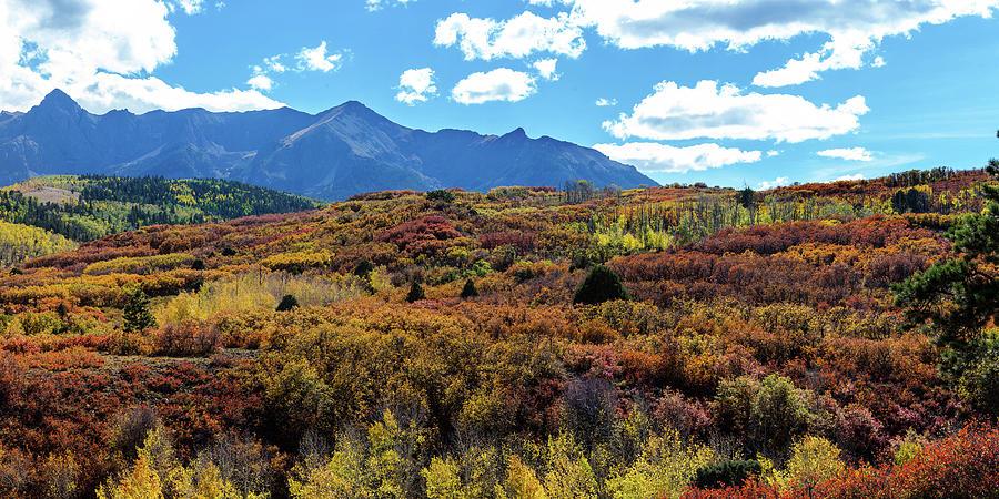 Ridgeway Photograph - Colorado Painted Landscape Panorama Pt2 by James BO Insogna