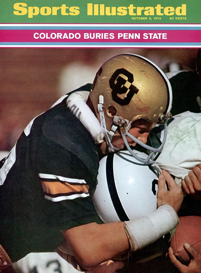 Colorado Phil Irwin Sports Illustrated Cover Photograph by Sports Illustrated