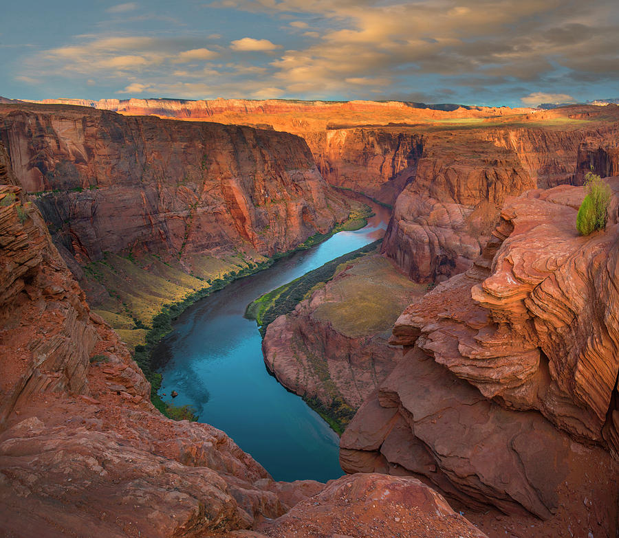 Mp Photograph - Colorado River At Horseshoe Bend by Tim Fitzharris