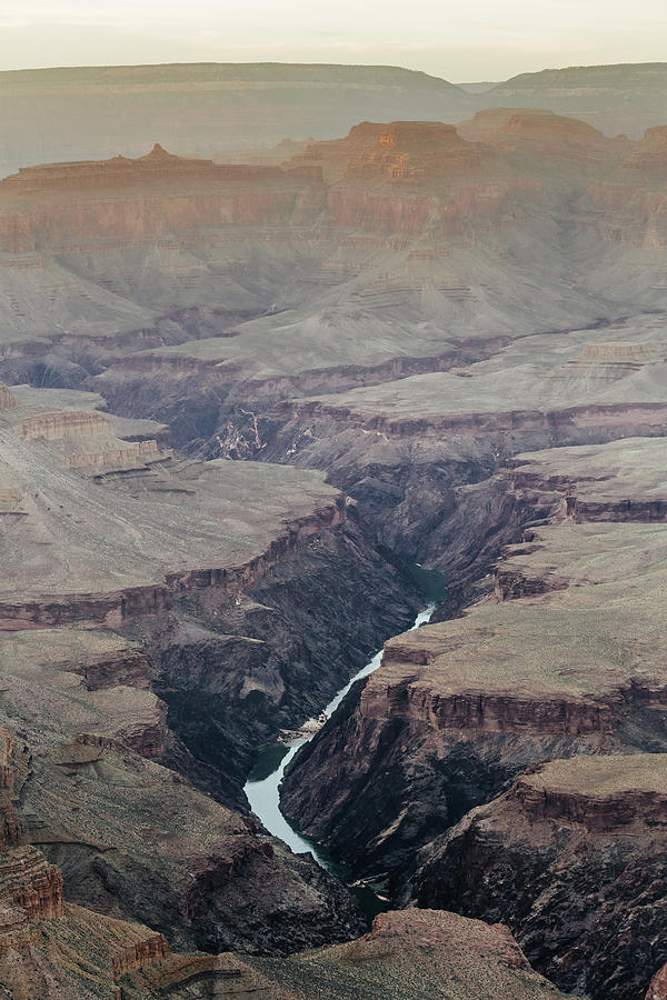 Colorado River In In The Grand Canyon Photograph by Deimagine