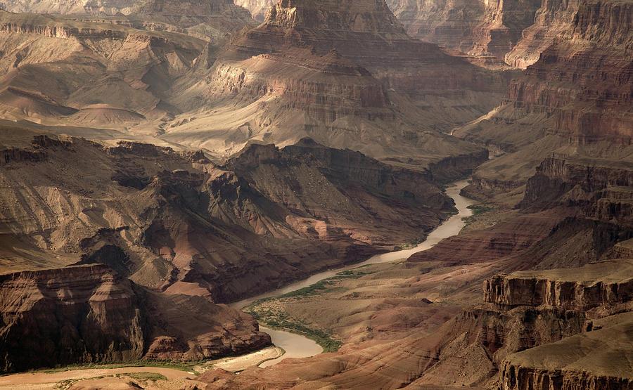 Colorado River Running Through Grand Photograph by Keiji Iwai