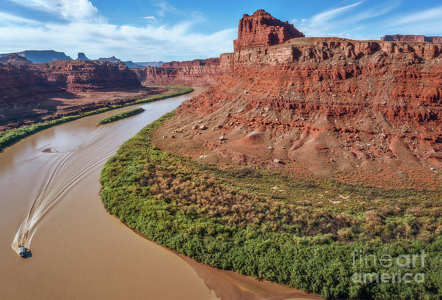 Colorado River by Sharon Seaward