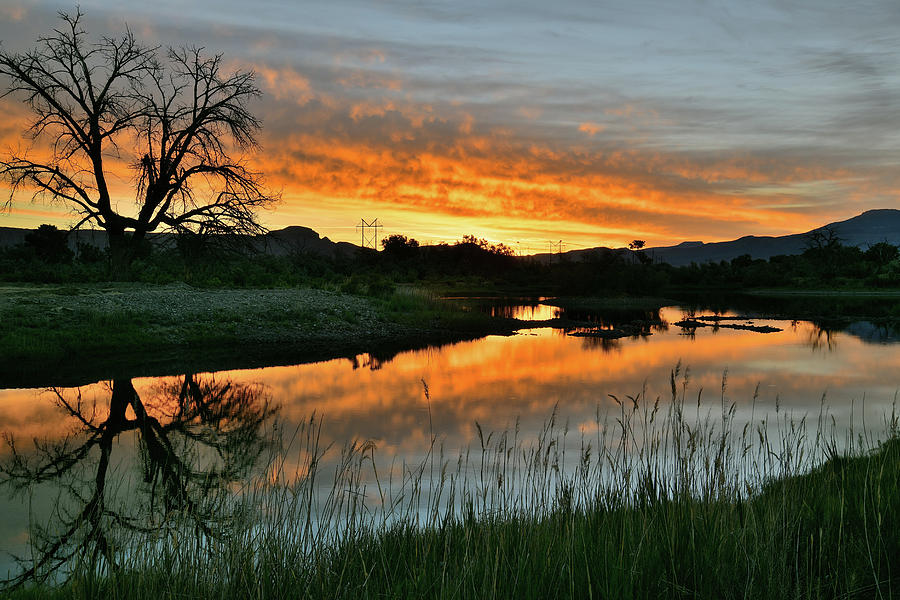 Colorado River Sunrise by Ray Mathis