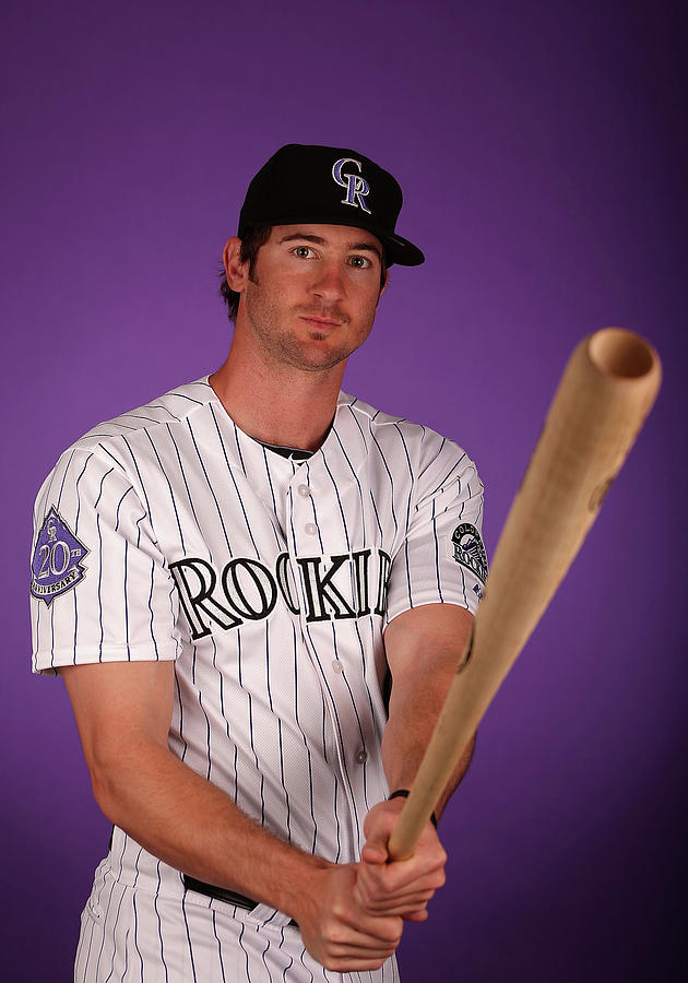 Colorado Rockies Photo Day Photograph by Christian Petersen