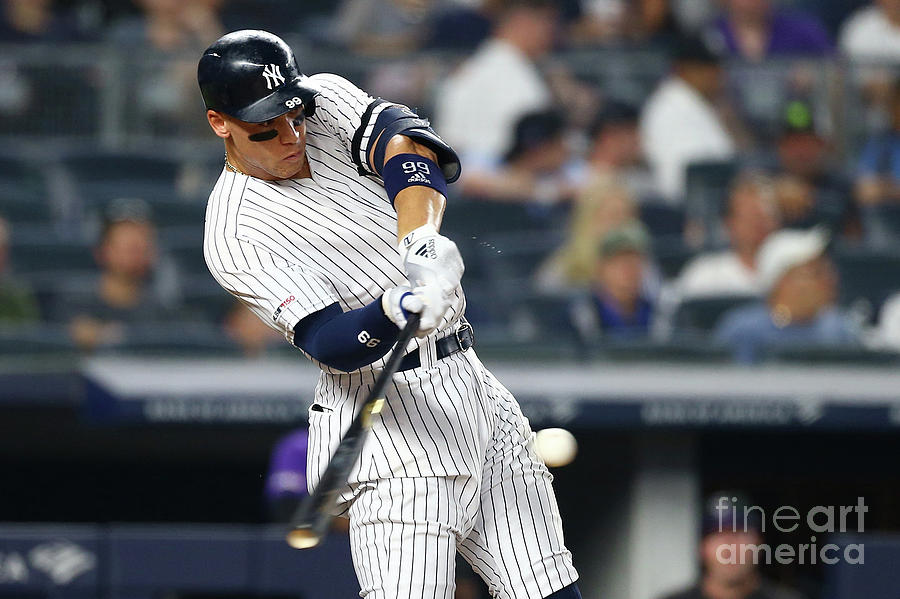 Colorado Rockies V New York Yankees Photograph by Mike Stobe