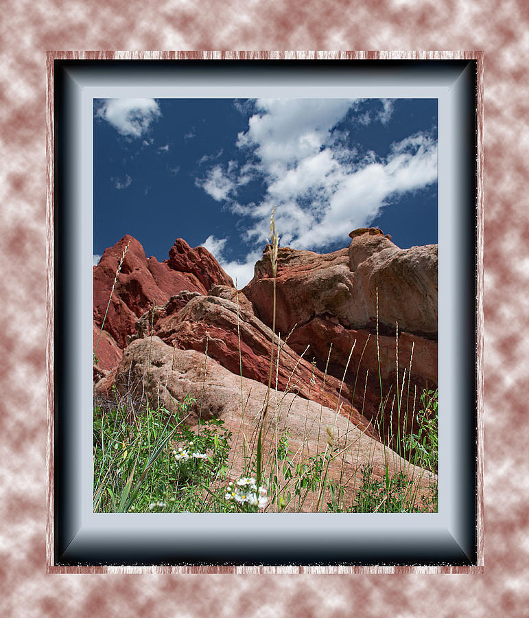 Colorado Rocks by Richard Risely