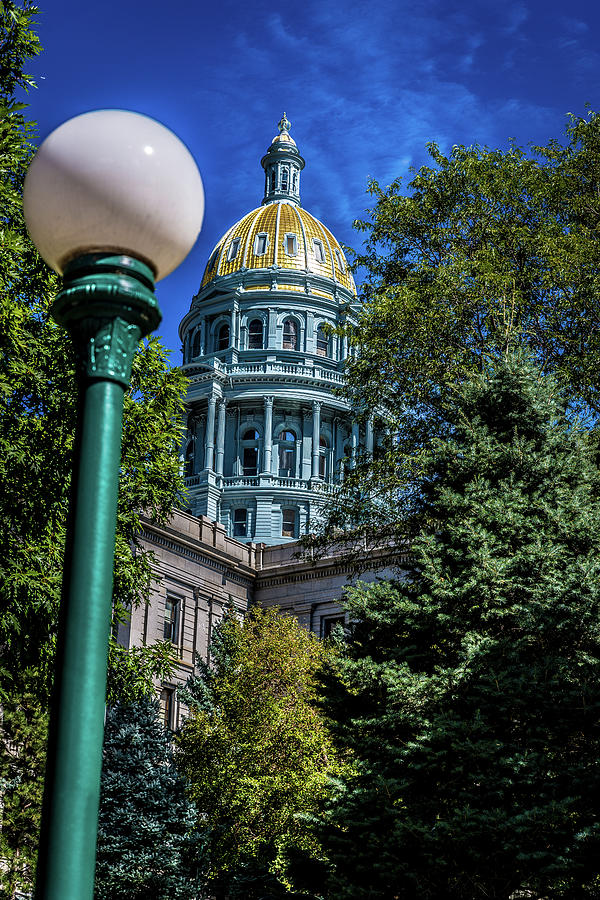 Colorado State Capital by James L Bartlett