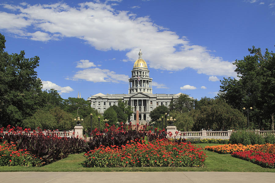 Colorado State Capitol Building Photograph by John Kieffer