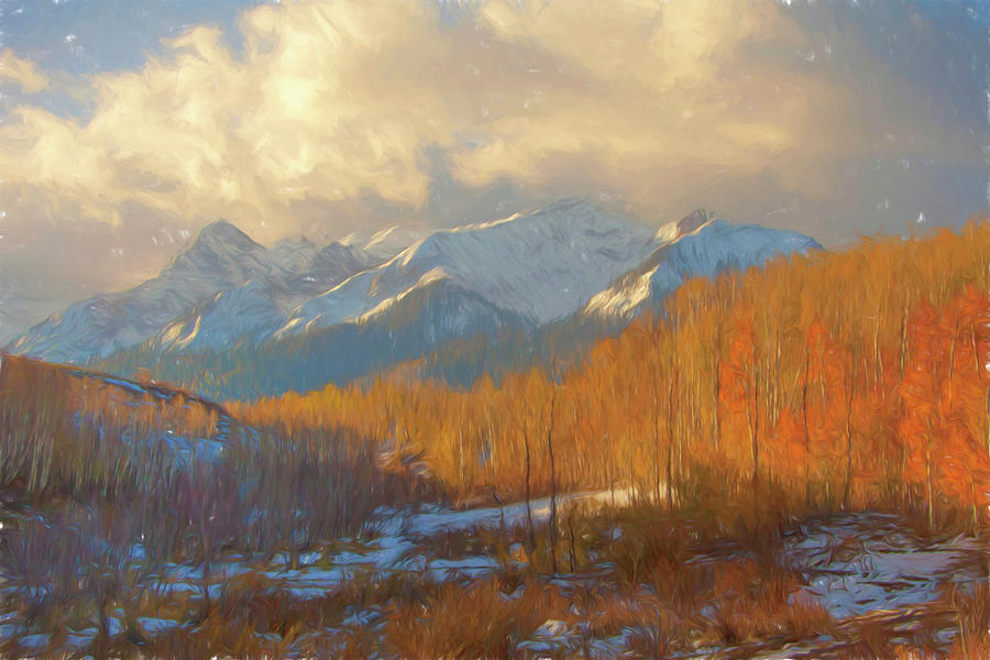 Colorado Gold by Fine Art Western Paintings