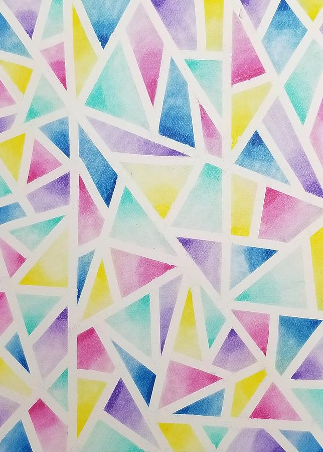 Colorful Abstract  by KRISTIN MCDONNEL