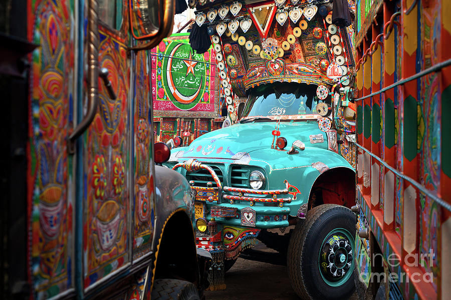Truck Art by Awais Yaqub