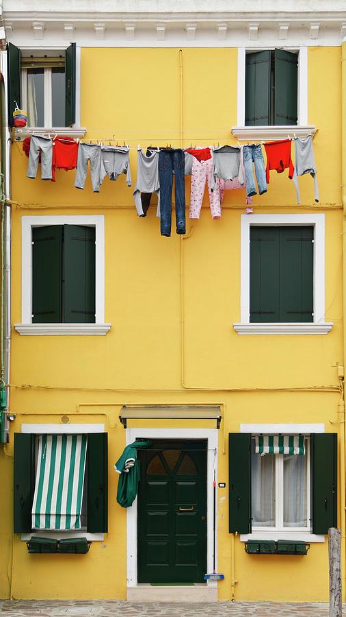 Colorful Burano Photograph by S. Greg Panosian