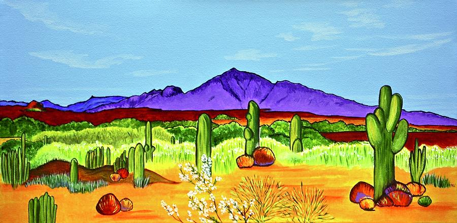 Colorful Camelback  by Sonja Jones