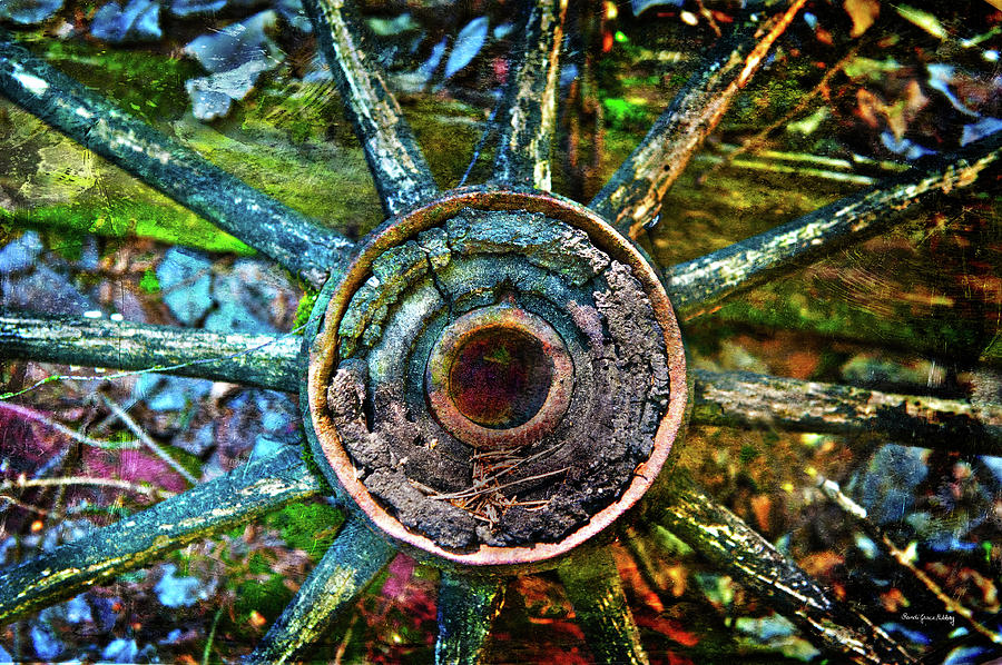 Colorful Decay Photograph