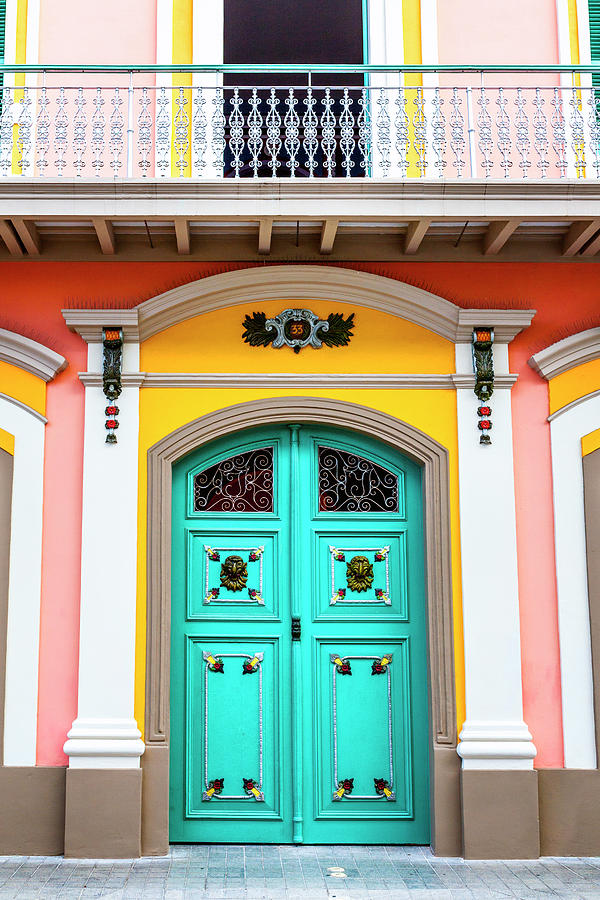 Color Photograph - Colorful Door by Lorrie Joaus