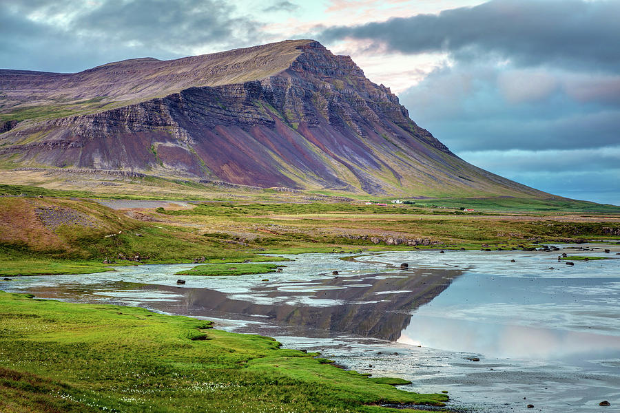 Colorful Iceland Landscape in the West fjords by Pierre Leclerc Photography