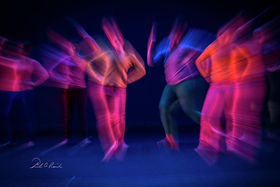Colorful Movement 2 by Frederic A Reinecke