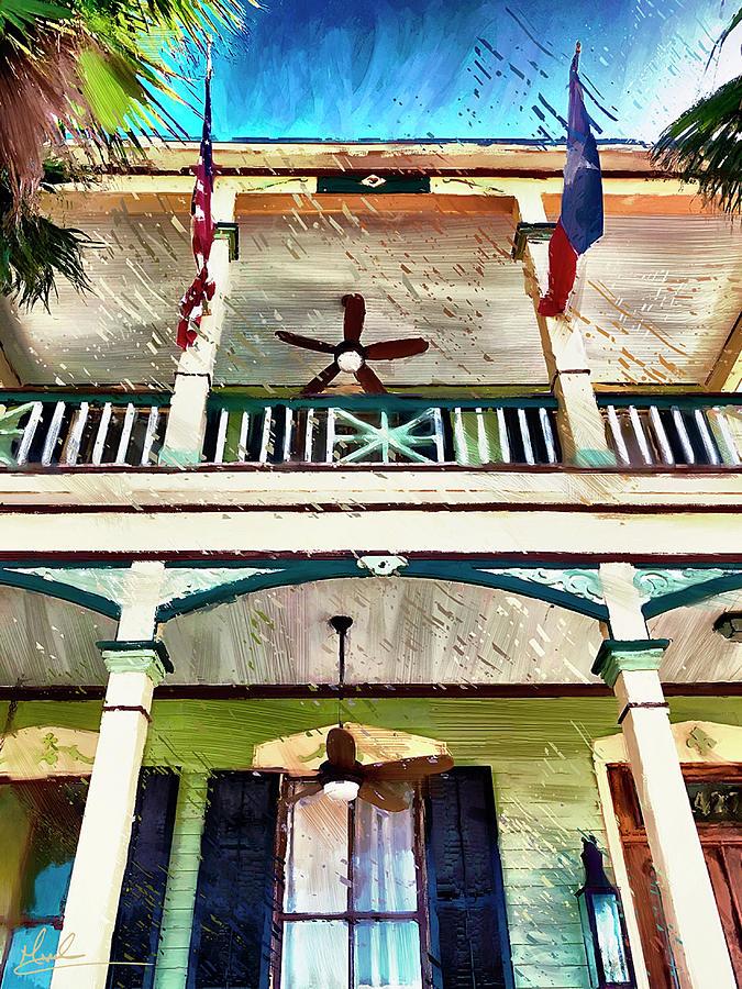 Colorful Porch by GW Mireles