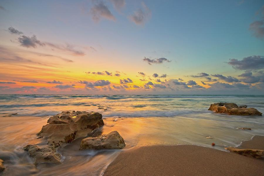 Colorful Seascape by Steve DaPonte
