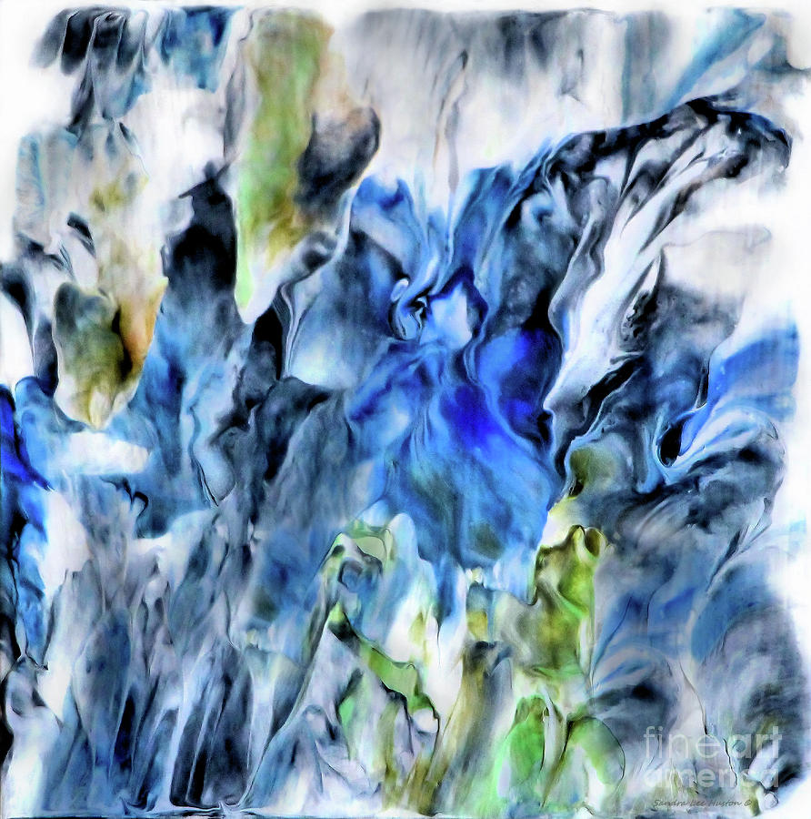 Colorful Spring Abstract by Sandra Huston