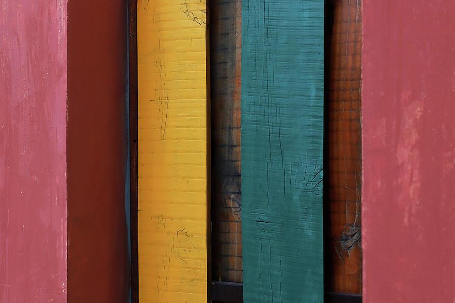 Colorful Stripes by Prakash Ghai