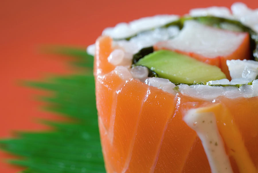 Colorful Sushi Photograph by Creativeye99