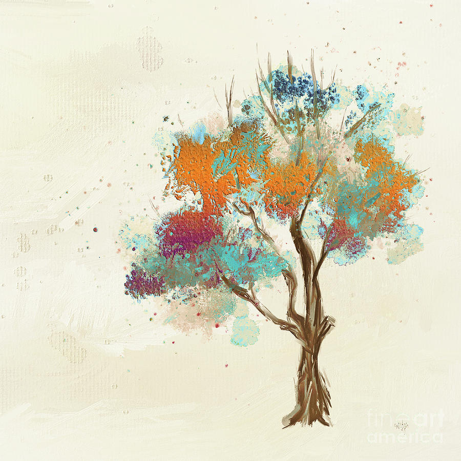 Colorful Tree by Lois Bryan