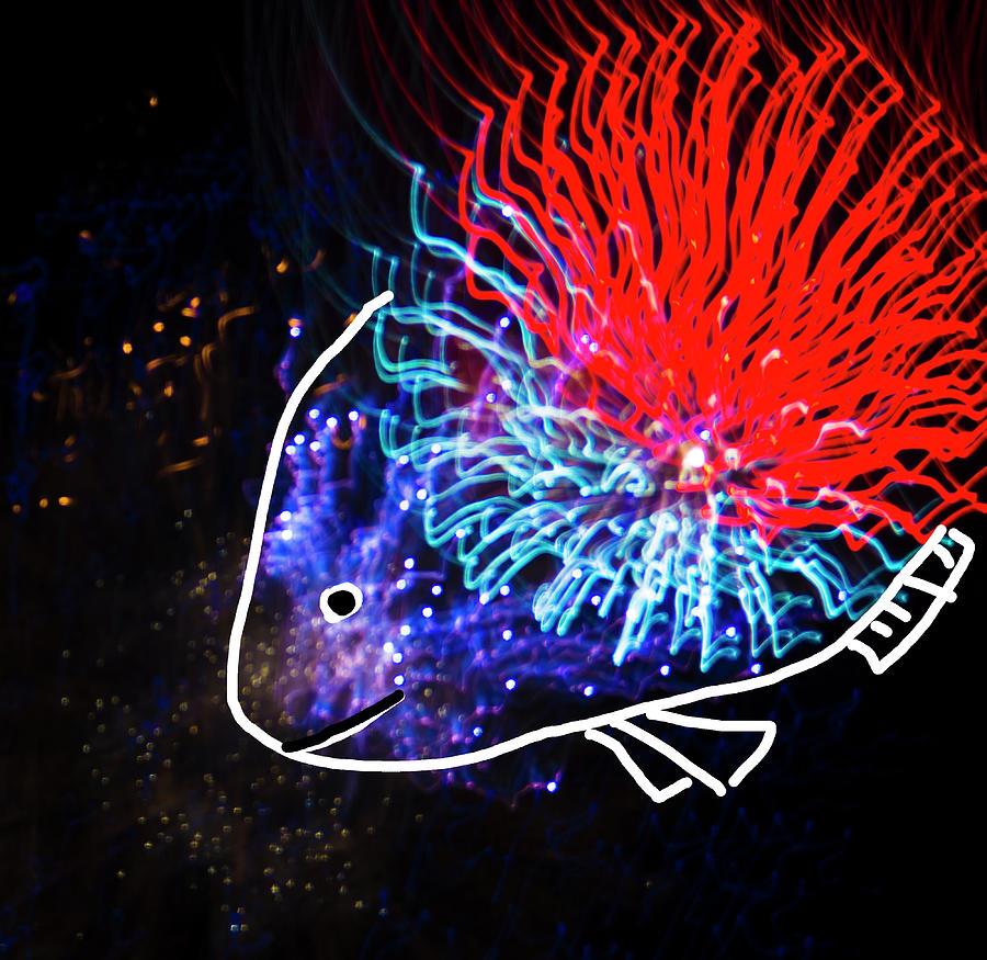 Colorful Tropical Fish by Yulia Kazansky