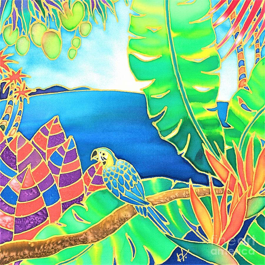 Colorful tropics 16 by Hisayo Ohta