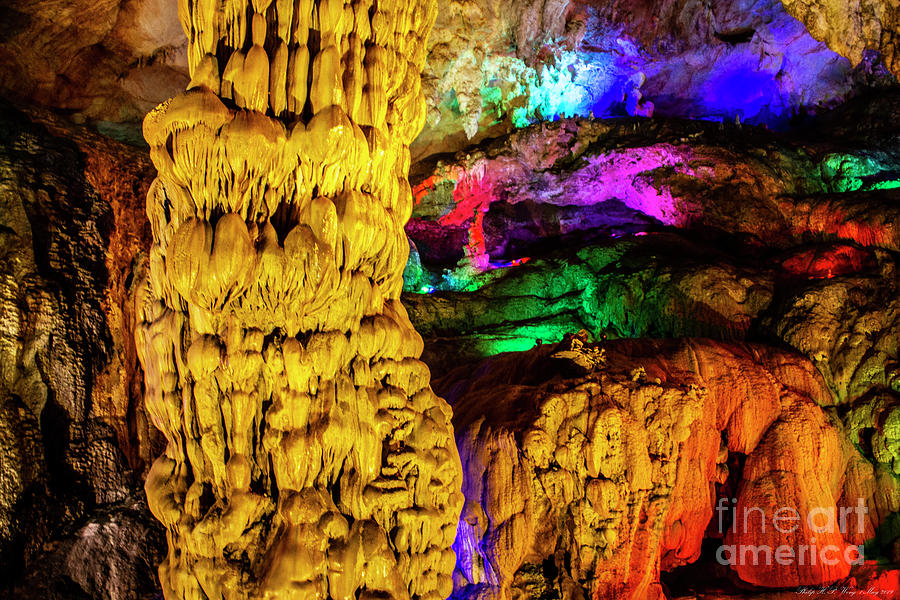 Colorful Underground 5 Mixed Media