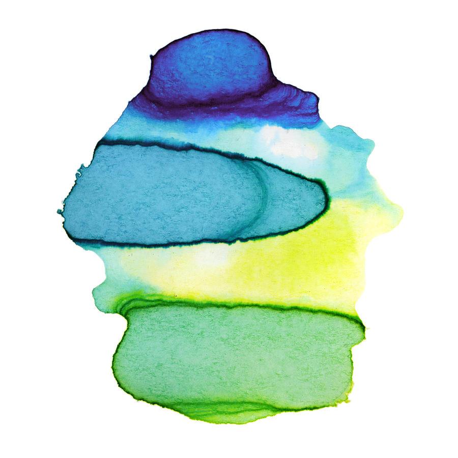 Colorful Watercolor Paint Paper Texture Digital Art by 4khz
