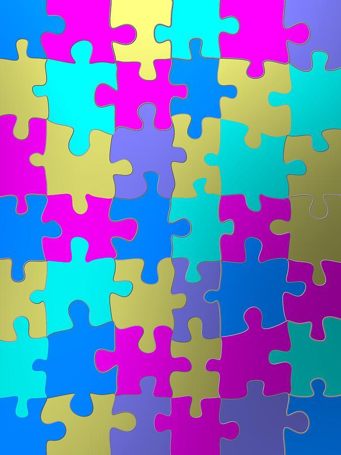 Colorist puzzle fashion by Alberto RuiZ