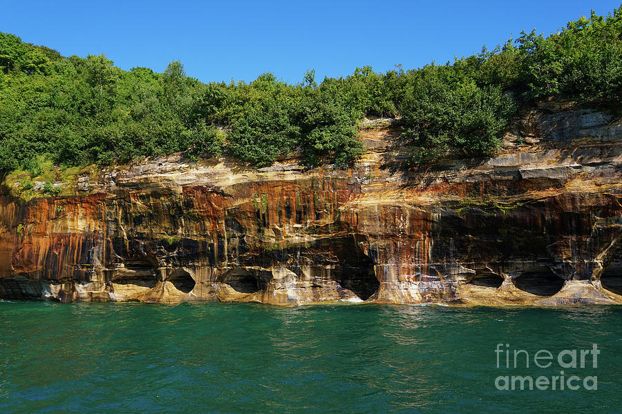 Colors At Pictured Rocks 2 Photograph