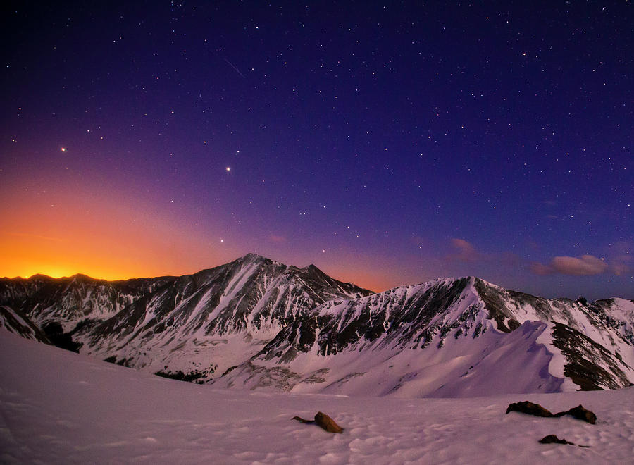 Colors Of A Colorado Overnight Photograph by Mike Berenson / Colorado Captures