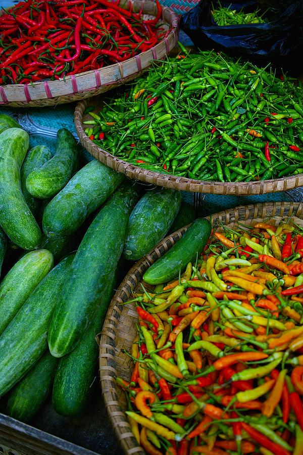 Colors Of Bali Market Photograph by Copyright© Shinzo Fukui