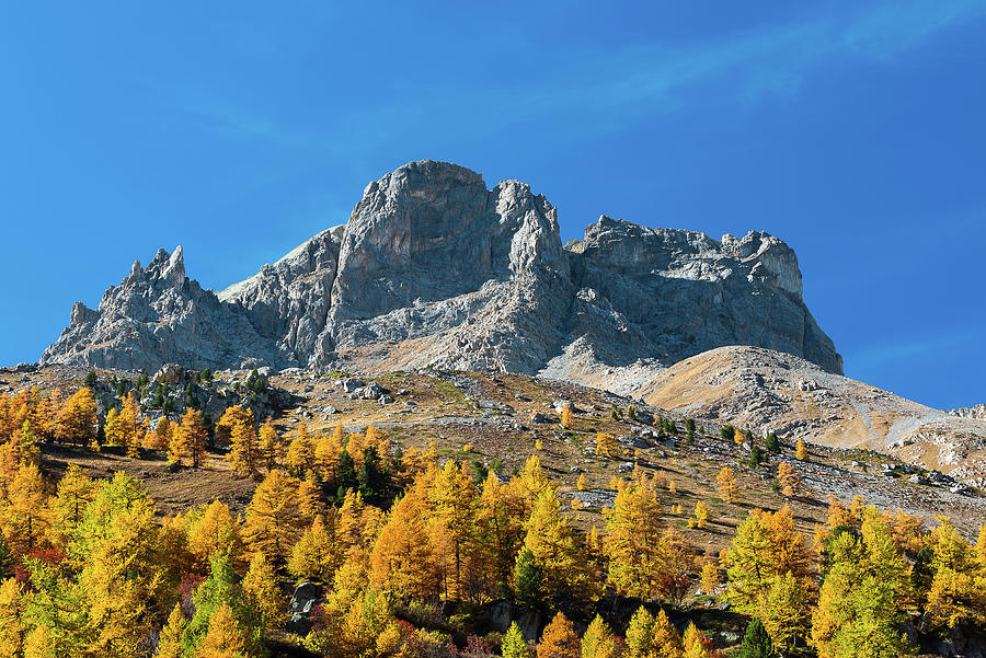 Colors of fall - 13 - French Alps by Paul MAURICE