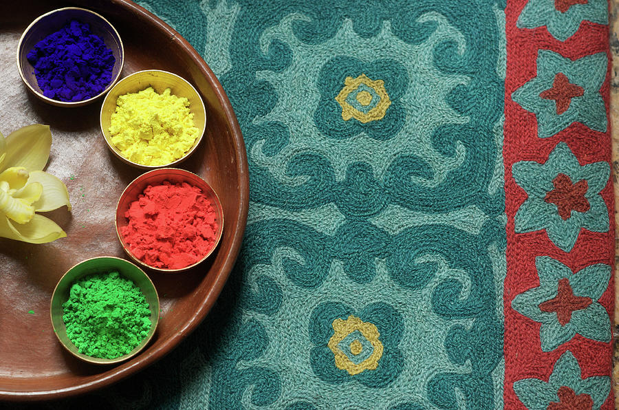 Colors Of India  Holi Photograph by Chandan Dubey