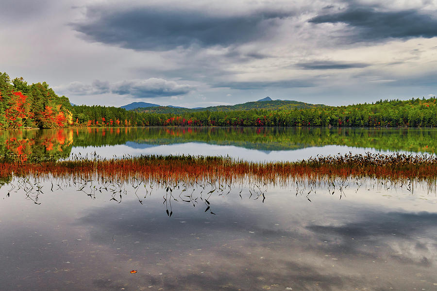 Colors, White Lake N H by Michael Hubley