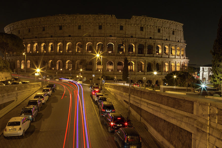 Colosseum at Night by John Daly