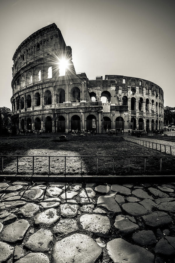 Colosseum In Rome Photograph by Mmac72
