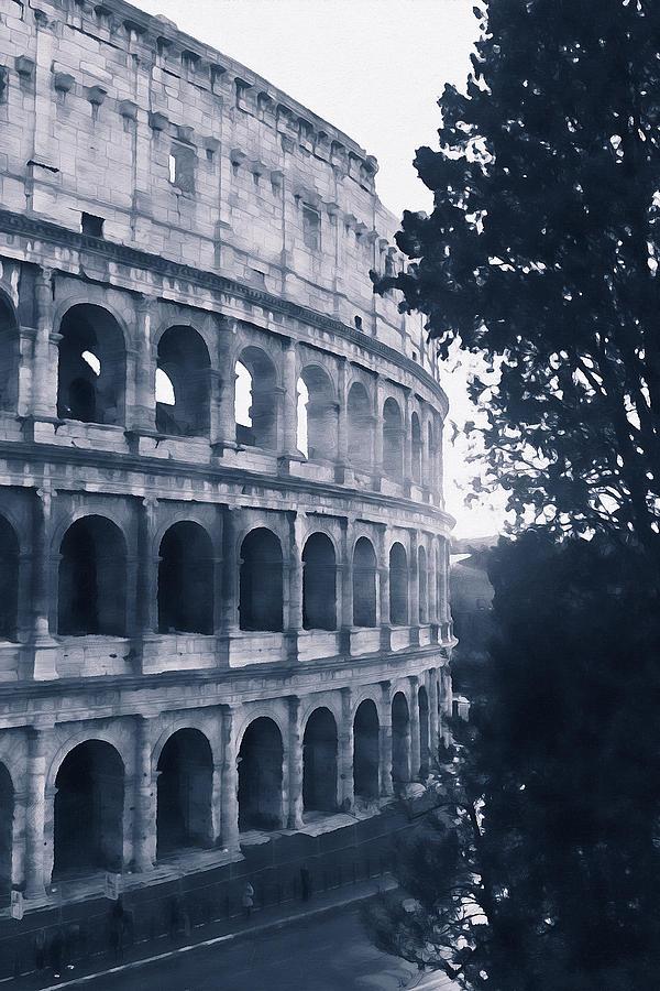 Colosseum, Rome - 15 by Andrea Mazzocchetti